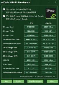 GeForce 405 GPGPU