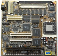 Motherboard with SiS 6215