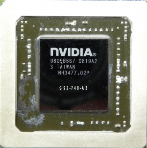 NVIDIA GeForce 9800M GTX